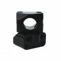 Pontets universels - 28.6mm - Noir