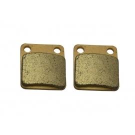 Pastillas de freno trasero - Modelo 1 - Semimetal
