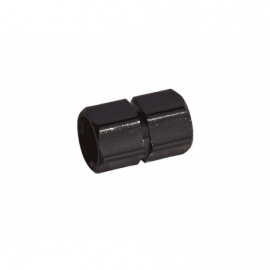 Bouchon de valve CNC - Noir