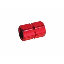Bouchon de valve CNC - Rouge