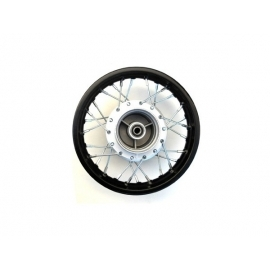 "10"" front wheel rim - 12mm - Steel - Drum"
